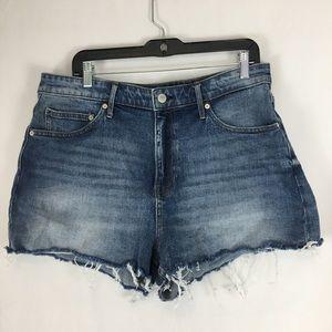 Calvin Klein Jeans Cutoff Denim Shorts Size 32